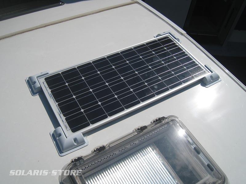 kit panneau solaire pour camping car 12 24v installation et pose solaris store. Black Bedroom Furniture Sets. Home Design Ideas