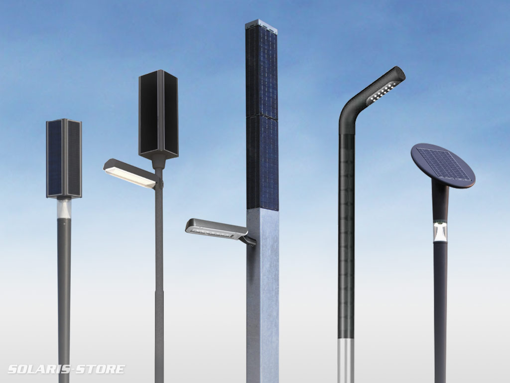 Lampadaire solaire gamme tarifs solaris store for Lampadaire solaire exterieur